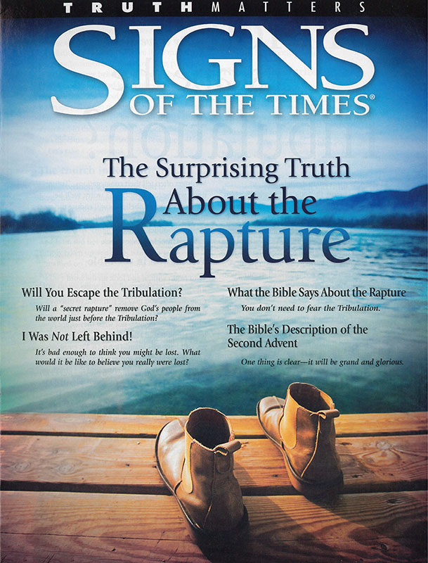 Signs - Surprising Truth About The Rapture, The